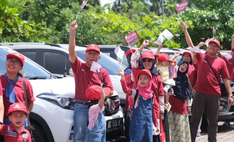 DFSK gelar Glory Day di Palembang guna menjalin tali silaturahmi antar pemilik mobil DFSK. (foto : SA)