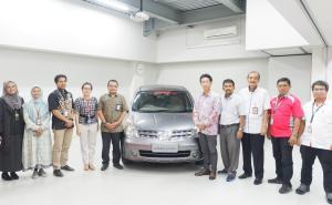Nissan senang menjadi bagian dari pengembangan industri otomotif Indonesia dan berkontribusi pada kemajuan sumber daya manusia. (ist)