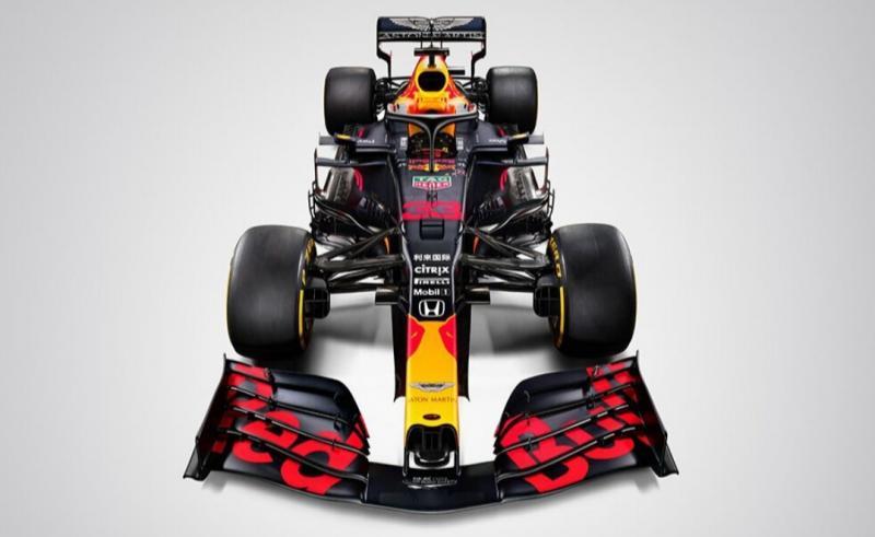 Honda luncurkan mobil baru F1 2020 pada sesi tes di sirkuit Catalunya, Barcelona, Spanyol