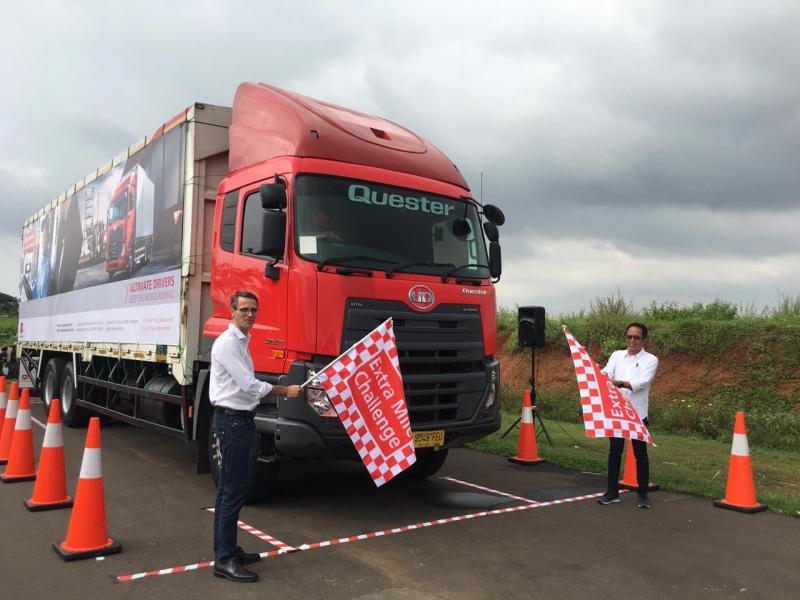 Penyelenggaraan yang memasuki tahun keempat ini masih terus diminati oleh para pengemudi UD Trucks di seluruh Indonesia. (anto)