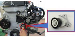 Kampanye perbaikan engine auto tensioner untuk beberapa model Mitsubishi. (Foto : mmksi)