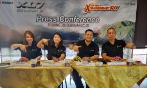 Suzuki Padang optimis hadirkan XL7 menyasar konsumen Sumatera Barat. (foto : ende)