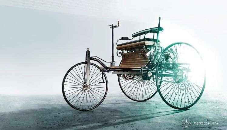 Sebagai sebuah mobil pertama di dunia, Benz Patent-Motorwagen telah menjadi simbol kepioniran dari semangat kesempurnaan.(MB)