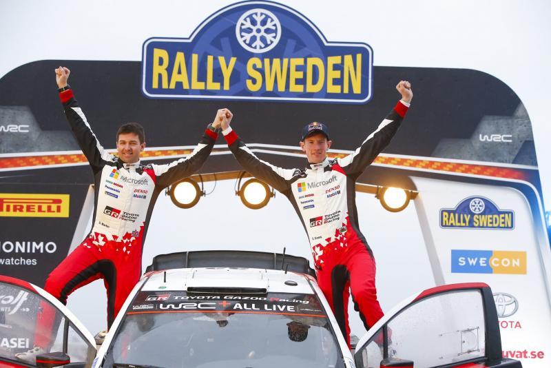 Elfyn Evans, Toyota Gazoo Racing World Rally Team