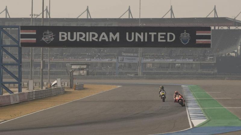Sirkuit Buriram Thailand bakal tempat berlangsungnya salah satu seri MotoGP 2020 yang ditunda sampai batas waktu belum ditentukan.