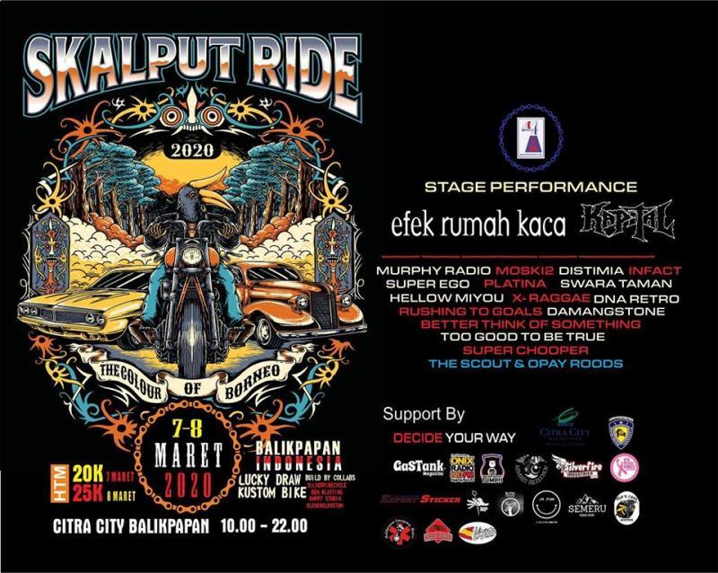 Skalputride 2020 yang akan dilangsungkan di Balikpapan, Kalimantan Timur