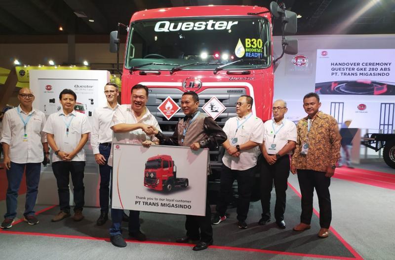 PT. Trans Migasindo adalah pelanggan loyal Astra UD Trucks selama Iebih dari 15 tahun. (anto)