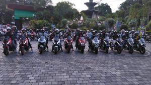 Sebanyak 18 Lady Bikers Lombok, Berhasil Jinakkan Matik Adventure Jebolan Honda