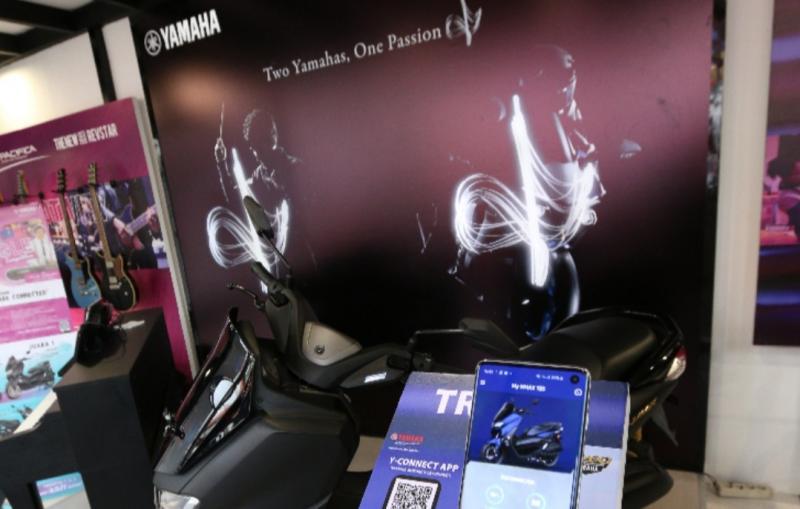 Aplikasi Yamaha Motorcycle Connect di Java Jazz 2020 membuat penasaran para milenial