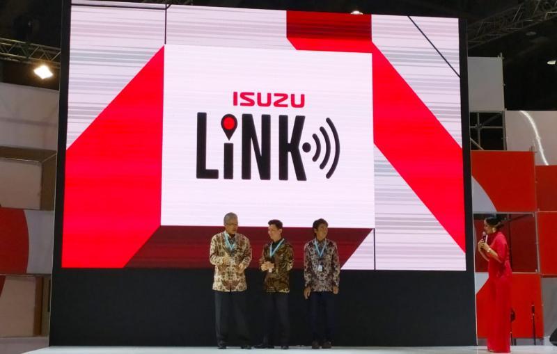 Isuzu Link versi terbaru ini dapat digunakan juga pada unit Isuzu ELF dan Isuzu Traga. (anto)