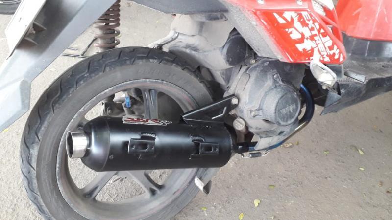Fresh From The Oven, Knalpot SKR Standar Racing Yamaha X-Ride