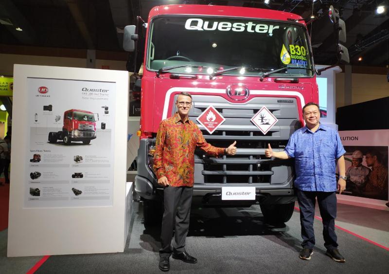 Bukti kesiapan UD Trucks dalam mendukung nol kematian ada di dalam beberapa fitur Quester dan Kuzer. (anto)