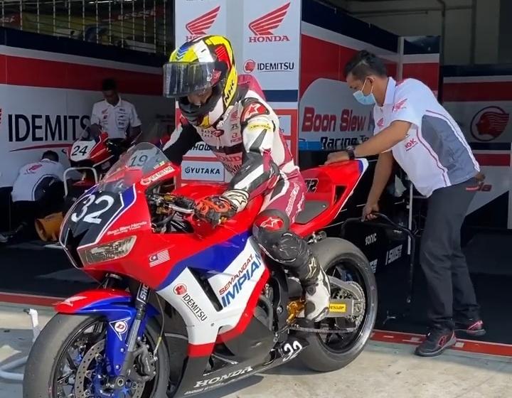 Race 1 ARRC Sepang 2020: Pembalap Malaysia Dominasi Podium Kelas SS600