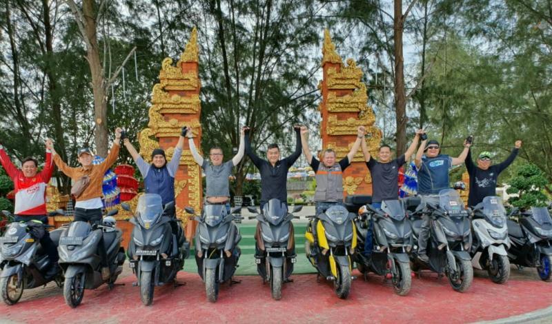 MOC Medan siapkan agenda touring ke Ranah Minang. (foto : ist)