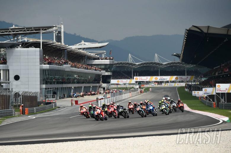 MotoGP Malaysia di Sirkuit Sepang, tahun ini berpotensi helat dua kali race. (Foto: crash)