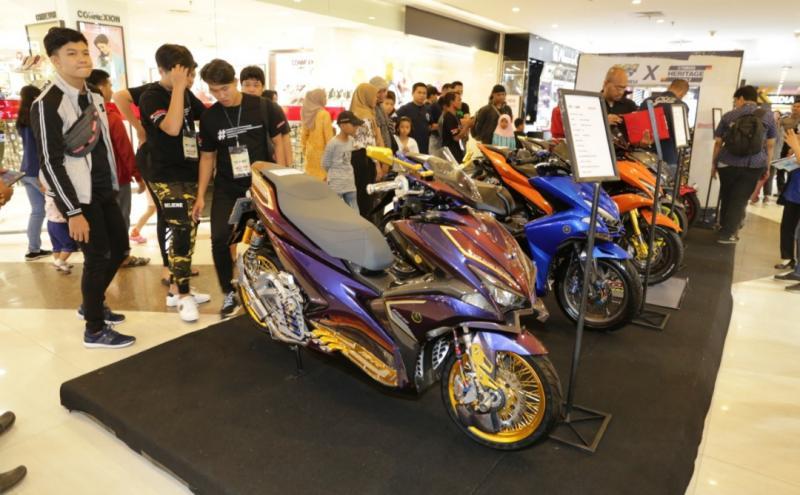 Kota Pontianak yang untuk kali pertama kontes modif Yamaha ternyata banyak bakat hebat yang terpendam