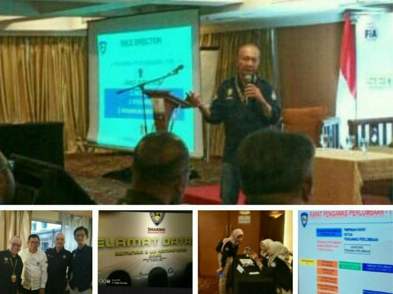 Kegiatan Seminar & Uji Kompetensi IMI 2020 di Hotel Ambhara Blok M Jakarta Selatan hari ini. (foto : bs)