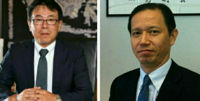 Atsushi Kurata (kiri) kembali ke Jepang untuk tugas baru, Naoya Takai Presdir baru PT KTB. (foto : kolase)