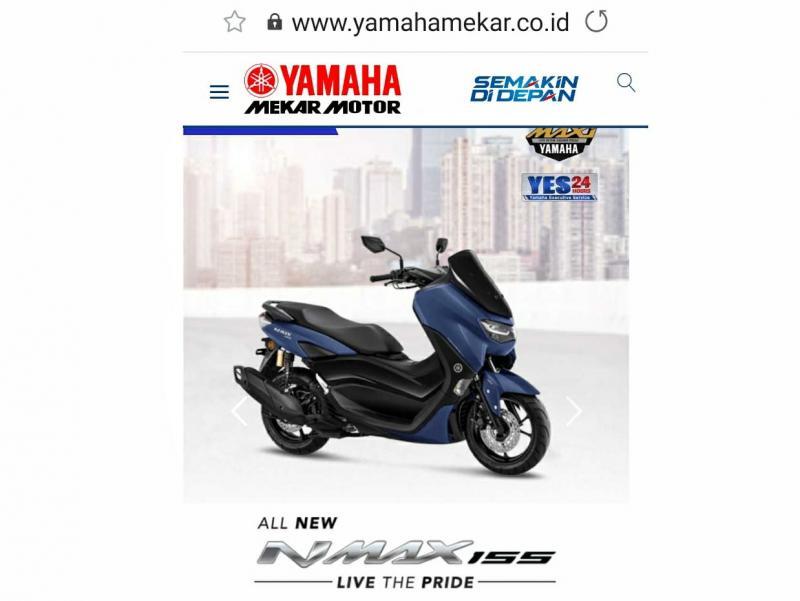 Yamaha Mekar Resmi Meluncurkan Website Barunya, Berikut Fitur-Fitur Yang Ditawarkan