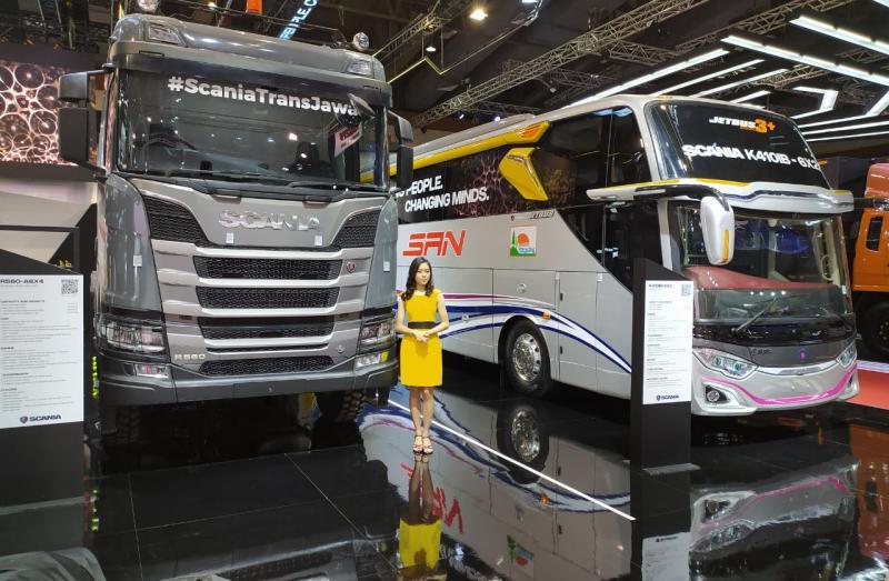 PT United Tractors Tbk (UT) sebagai distributor UD Trucks dan Scania di Indonesia berkomitmen menghadirkan kendaraan untuk sektor transportasi yang selalu mengedepankan kenyamanan, keamanan, efisiensi serta ramah lingkungan. (anto)