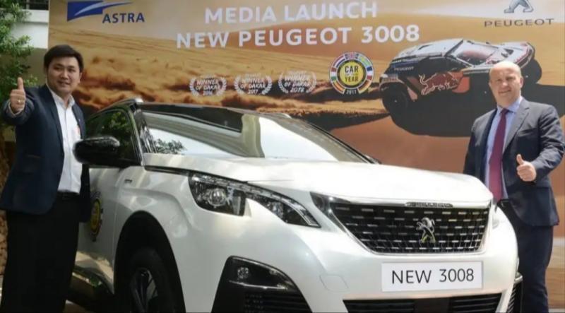 Peugeot Allure 3008 saat launching di Jakarta beberapa waktu lalu