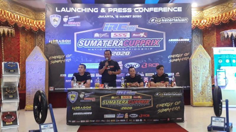Sumatera Cup Prix 2020 Gelar 5 Seri, Berikut Jadwal Balapnya