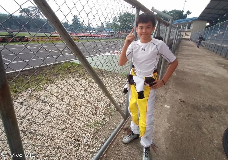 Gael Julien, terlalu perkasa di kelas Junior Eshark Rok Cup 2020