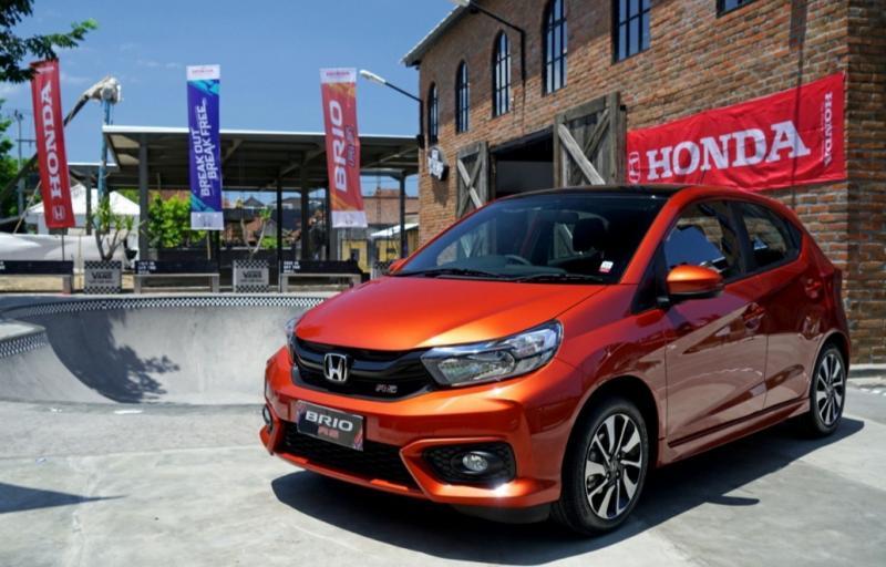 Honda Brio cetak penjualan positif baik dari tipe Satya maupun RS pada Februari 2020