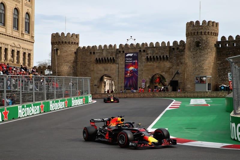 Street circuit di tenghk Kota Baku yang eksotis, akankah batal seperti seri F1 sebelumnya? (Foto: f1reader)
