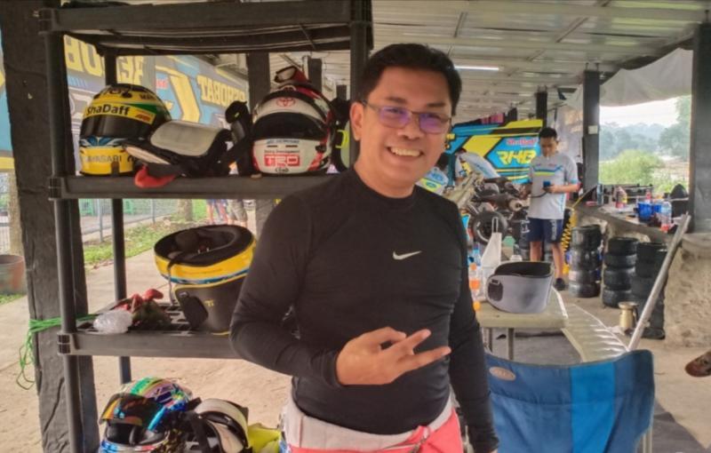 Fredi Rostiawan, Kabid Olahraga Mobil IMI Jabar masuk radar Caketum IMI Jabar pada Musprov tahun 2021. (Foto : bs)