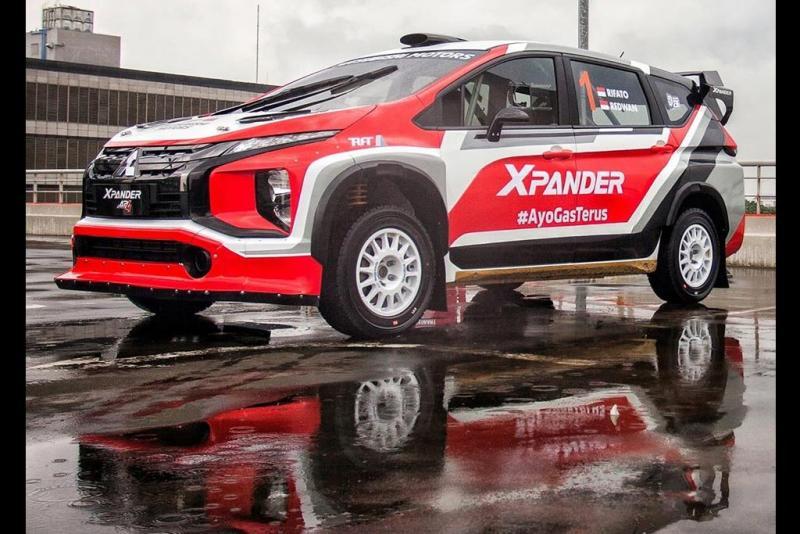 Mitsubishi XPANDER AP4 akhirnya sampai Indonesia dan siap digaspol di Kejurnas Reli 2020