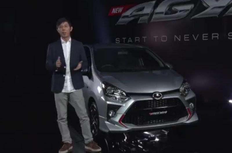 Anton Jimmi, Penjualan Agya terus meningkat dari tahun ke tahun, kehadiran New Agya untuk menjawab berkembangnya kebutuhan segmen entry level di Indonesia. (anto)