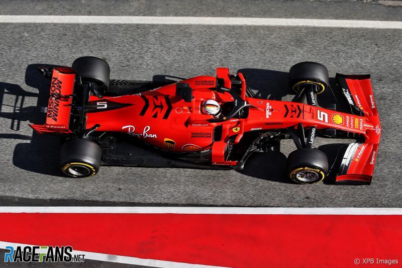 SF90, besutan Ferrari 2019, masih dipersoalkan legalitas mesinnya. (Foto: racefans)