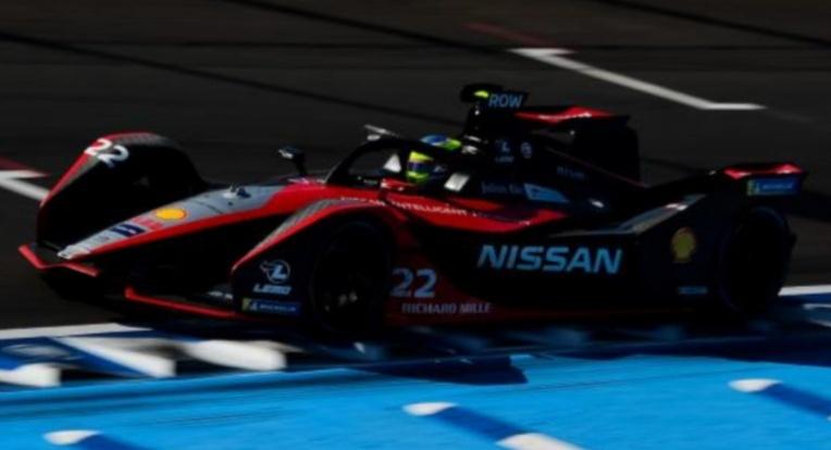 Nissan E DAMS di ajang balap Formula E tahun 2020