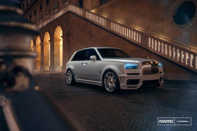 Rolls Royce Cullinan yang mewah dijadikan bahan modifikasi
