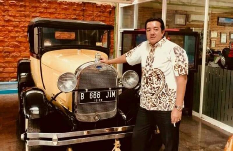H Jimmy Syamsudin, pemilik sirkuit Swarnadwipa Nusantara Muara Bungo Jambi. (foto : dok pribadi)