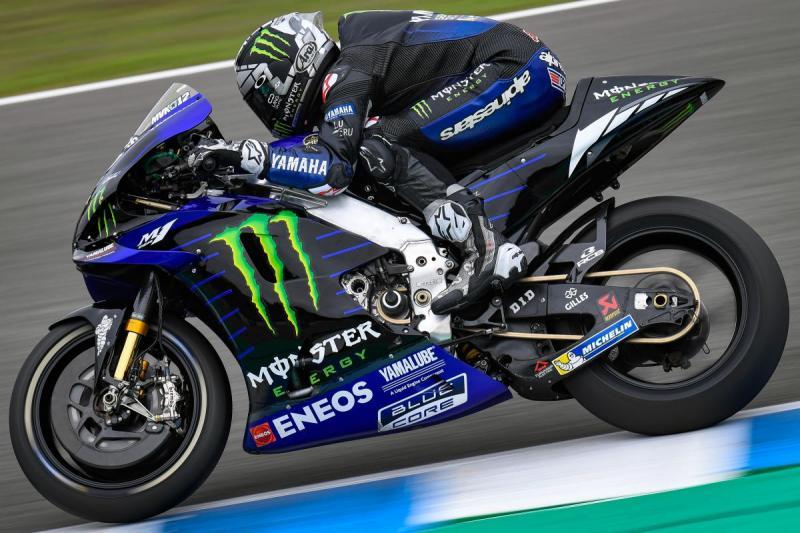Maverick Vinales (Spanyol/Yamaha), petik yang hilang di awal musim pada akhir musim. (Foto: motogp)
