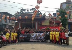 Emejing! Puluhan Bikers HAI, Explore Kampung Tehyan