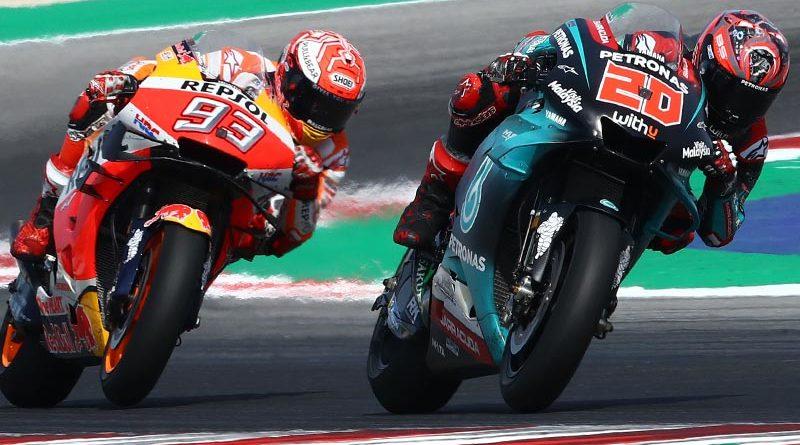 Marc Marquez vs Fabio Quartararo, penantian penting saat MotoGP 2020 dimulai. (Foto: motoweek)