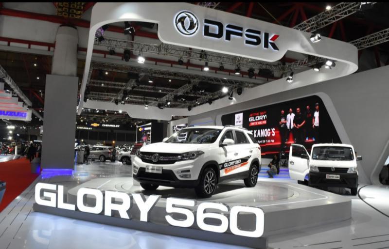 DFSK Glory 560 dengan promo menarik, cicilan ringan dan DP nol persen masih terbuka untuk konsumen