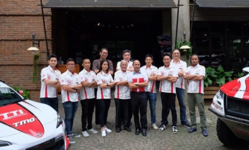 Skuad Toyota Team Indonesia yang mendulang sukses di tahun 2019. (Foto : ist)