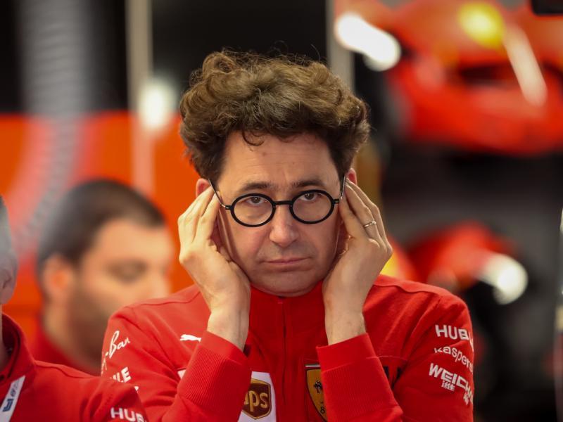 Mattia Binotto, dinilai Bernie Ecclestone kurang cocok pegang tim Ferrari