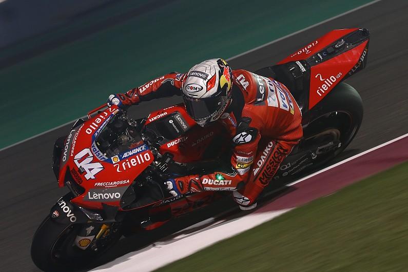 Andrea Dovizioso pembalap andalan Ducati asal Italia. (Foto: autosport)