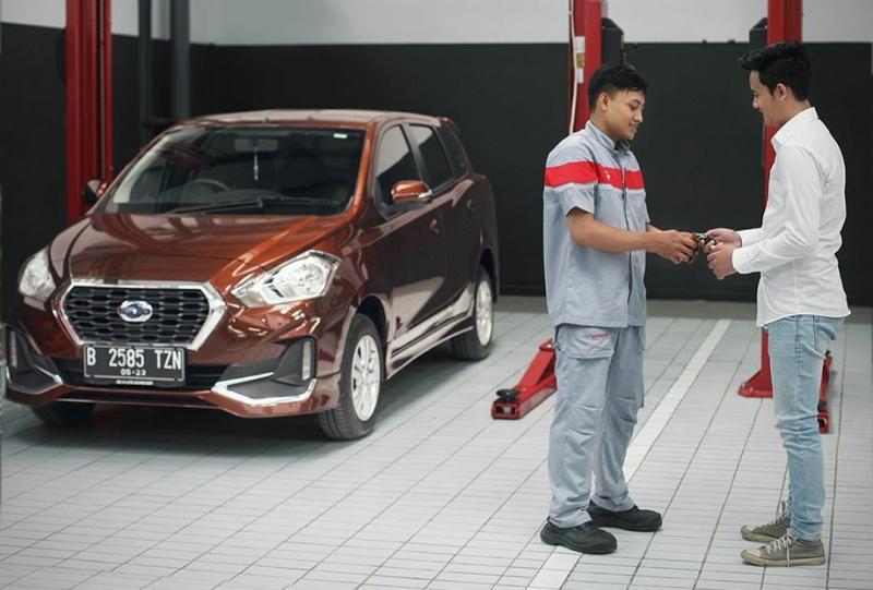Konsumen Datsun bisa melakukan perawatan di bengkel Nissan dengan perlakuan, tetap sama layanannya seperti sebelumnya.(datsun_id)
