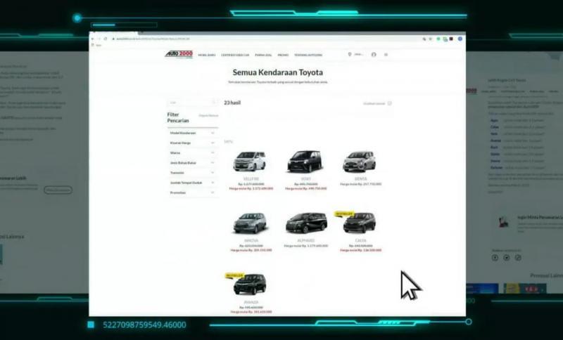 Kemudahan menjadi kunci utama Auto2000 Digiroom, dimana Auto Family bisa menikmati program promo yang ditawarkan sesuai lokasi dan memilih metode pembayaran yang diinginkan. (anto)