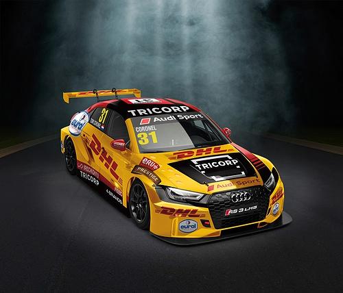 Audi RS3 LMS, mobil balap Tom Coronel untuk Musim Balap WTCR 2020