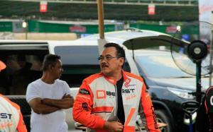 Erwin Mancha, pereli senior yang merasa sedih karena baru dapat sponsor tapi ada virus Corona.