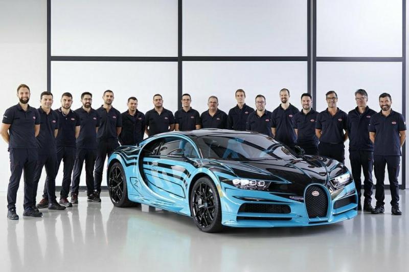 Pabrik supercar Bugatti di Prancis juga ikut hentikan aktivitas produksi gara-gara Corona. (Bugatti)