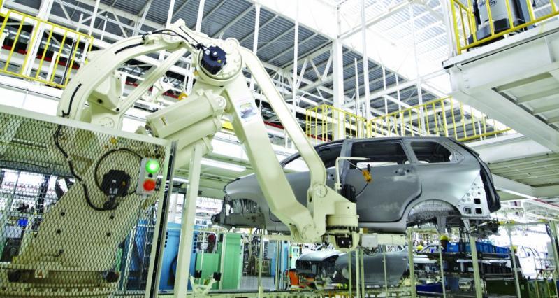 Pabrik Daihatsu, resmi terapkan WFH untuk menghindari penyebaran pandemi covid 19. (Foto : ist)