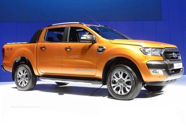 Ford Ranger generasi baru yang bergenre double cabin pick-up menjadi tawaran utamanya. (Fordthailand)